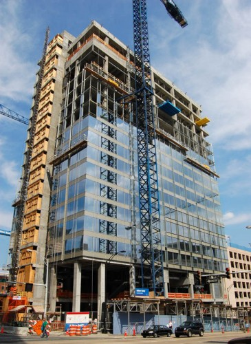 Ritz-Carlton construction