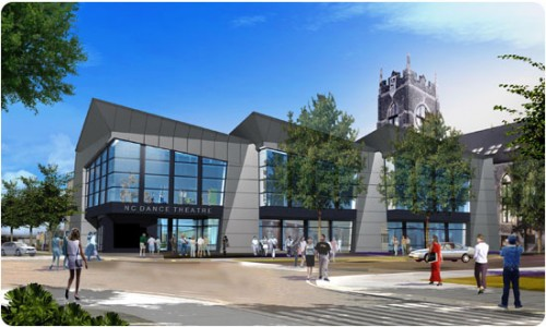 NC Dance Theater rendering
