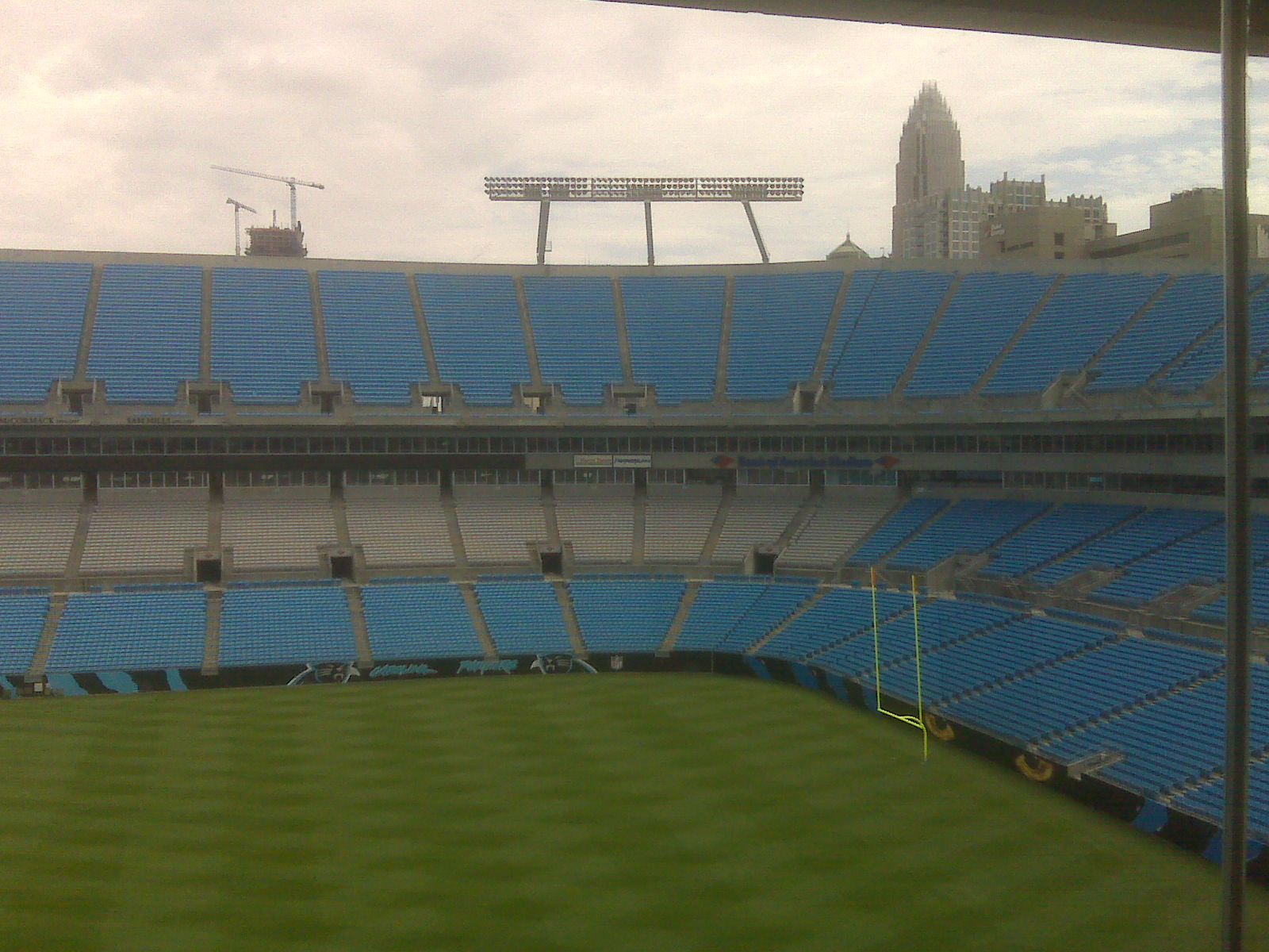 View from the press box2