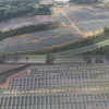Apple's Maiden, NC solar farm; image via WCNC
